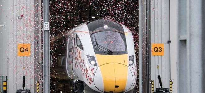 New high-speed Intercity train unveiled