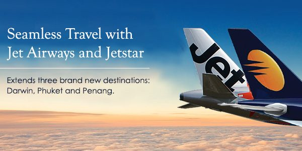 Jet Airways Signs Codeshare Agreement With Jetstar Asia For Flights Through Singapore