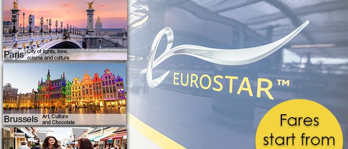 Eurostar Standard Class Promotion