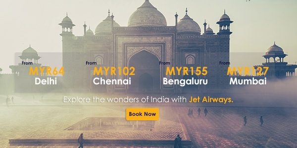 Jet Airways: Magnificent Promo Fares For Magnificent India