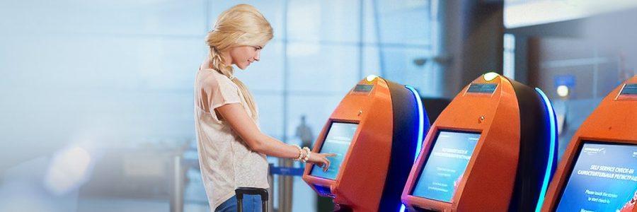 Aeroflot: Self-service check-in kiosks for Aeroflot passengers installed at Venice Airport