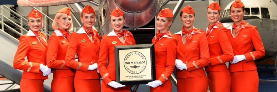 Aeroflot named Best Airline in Eastern Europe for sixth time at Skytrax World Airline Awards