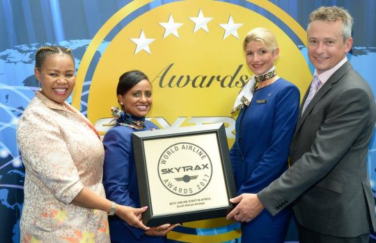 South African Airways a winner at World Airline Awards for 15 consecutive years