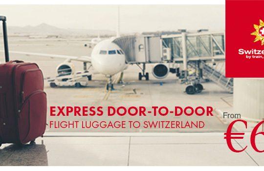 Rail Europe: Express Door-to-Door Flight Luggage Service to Switzerland