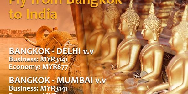 Jet Airways Flies from Bangkok to India!