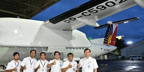 PAL accepts delivery of 2nd Bombardier Q400 Next Gen aircraft