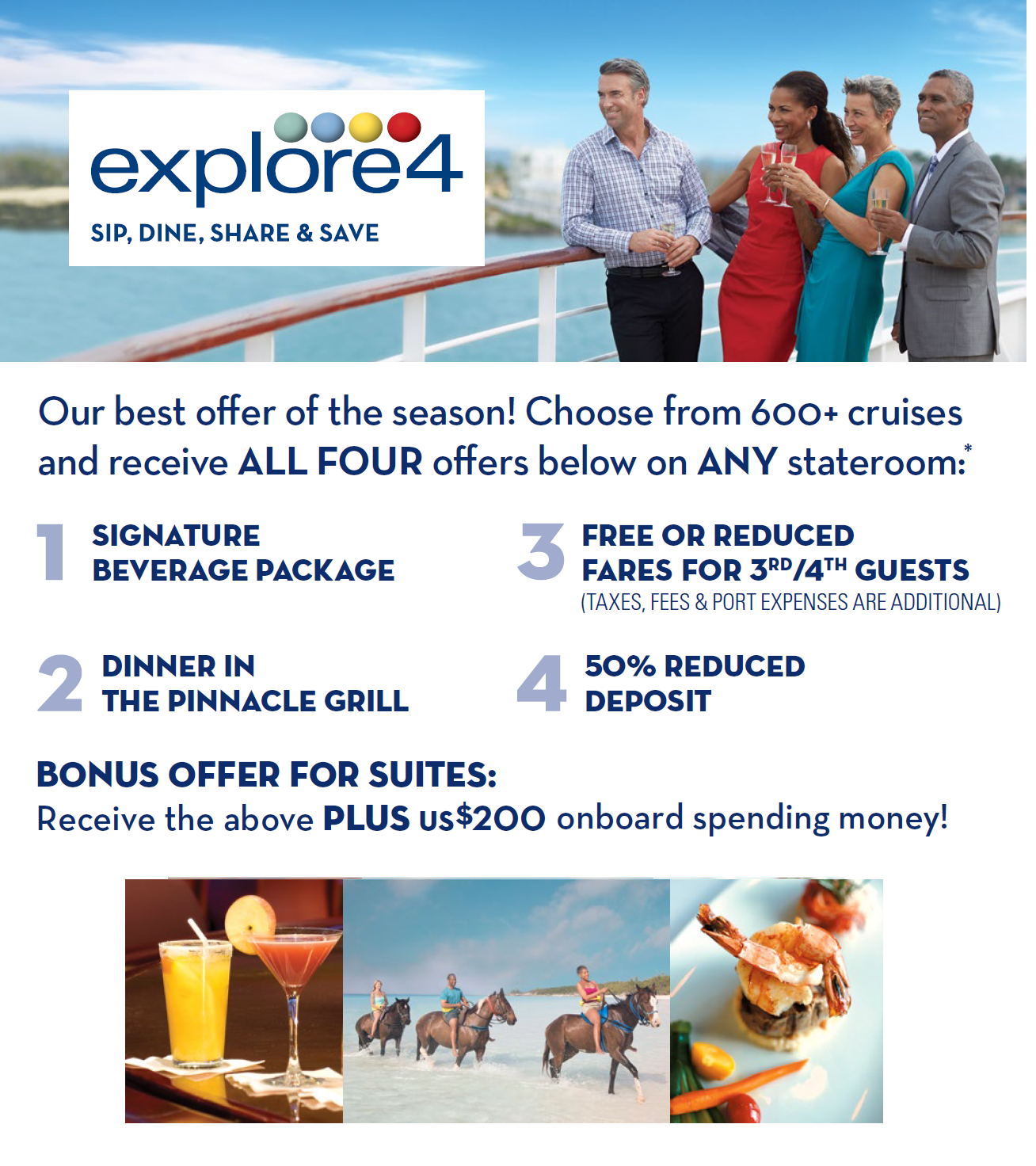 EXPLORE4 CRUISE OFFERS