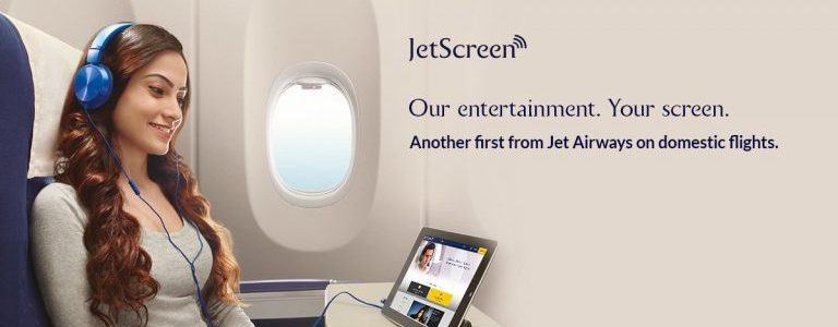 JetScreen – Jet Airways' In-flight Entertainment