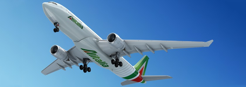Alitalia third most punctual airline in Europe
