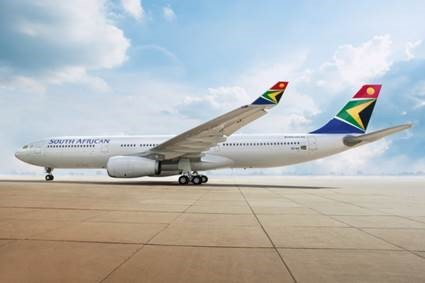South African Airways introduces the new Airbus A330-300 on the Johannesburg to London route and rationalises frequency