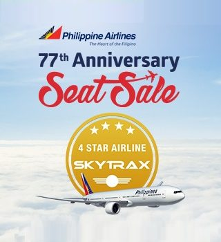 Philippine Airlines 77th Anniversary Seat Sale – International Flight Promos