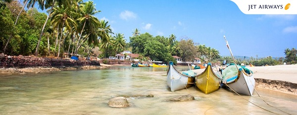 Spend your summer with Jet Airways in Goa !