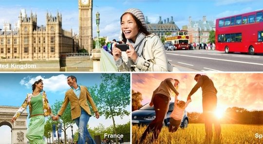 Europcar: Start Planning Your Spring Escape Now