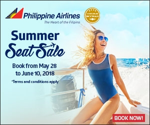 Philippine Airlines: Summer Seat Sale up to 50% OFF!!! BOOK NOW!!!
