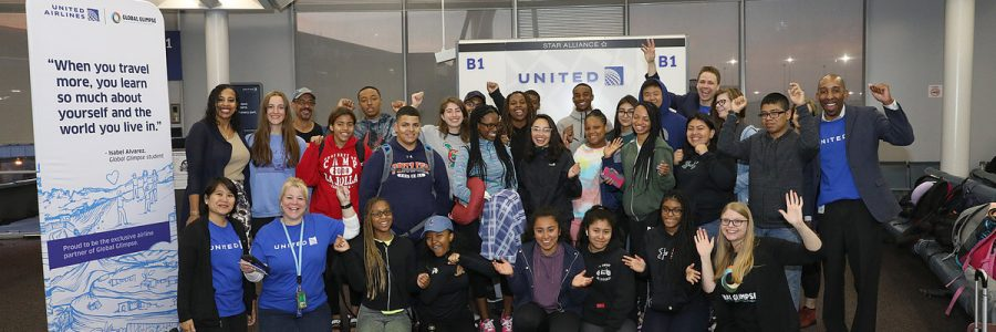 United Airlines Partners with Global Glimpse to Fly More Than 1,000 Students and Teachers