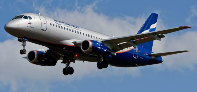 Aeroflot takes delivery of its 45th Sukhoi Superjet 100