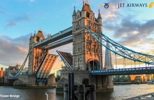 London With Jet Airways !