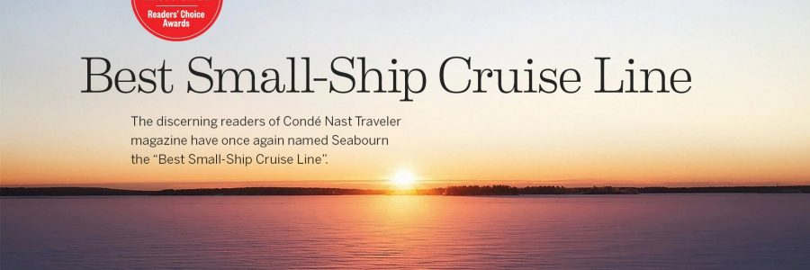 "Condé Nast Traveler Readers Name Seabourn ""Best Small-Ship Cruise Line"" Yet Again"