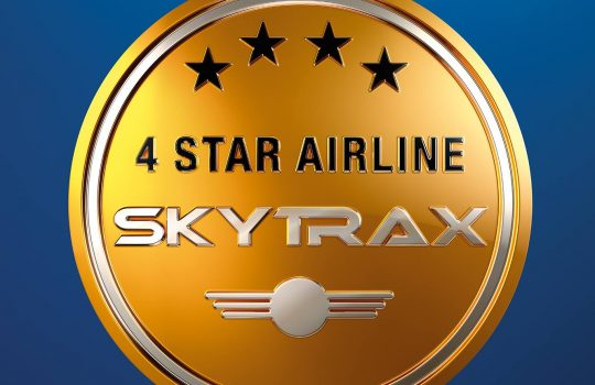 Aeroflot confirms prestigious Skytrax 4-Star Airline rating