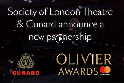 Cunard to also partner with the Society of London Theater to create a new event voyage on board the luxury ocean liner Queen Mary 2
