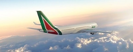 'Alitalia: in February most punctual airline in the world 90.12 per cent of flights landed on-time. According to independent US society FlightStats'