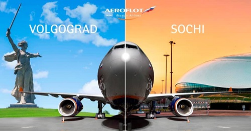 Aeroflot launches direct flights between Volgograd and Sochi from 2 June