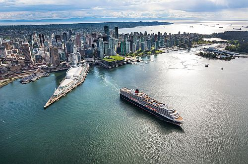Cunard's Queen Elizabeth Kicks off Inaugural Season in Alaska with Maiden Call to Homeport of Vancouver on May 21