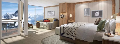 Seabourn Unveils Extraordinary Suites On New Ultra-Luxury Purpose-Built Expedition Ships