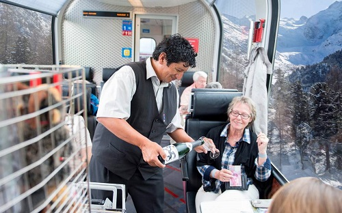 Rail Europe: Travel On Bernina Express From Glaciers To The Palms