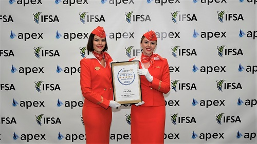 Aeroflot reconfirms Five Star Global Airline rating from APEX