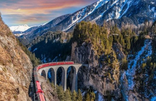 Rail Europe: 9 delightful photo spots along the Grand Train Tour