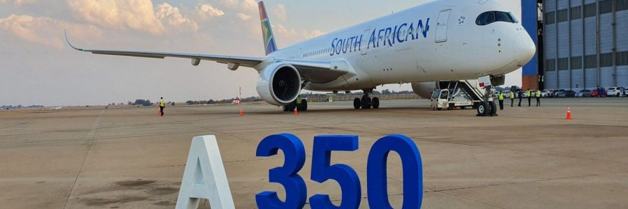 South African Airways takes delivery of first new Airbus A350s and announces leasing two additional A350s
