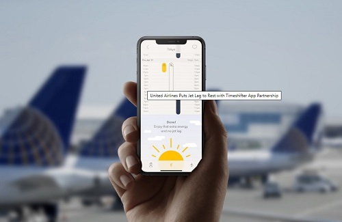United Airlines Puts Jet Lag to Rest with Timeshifter App Partnership