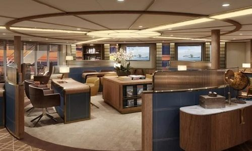"""Seabourn Brings a New Experience to Guests with Unique """"Bow Lounge"""" on Its New Ultra-Luxury Purpose-Built Expedition Ship, Seabourn Venture"""