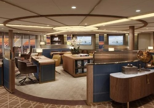 "Seabourn Brings a New Experience to Guests with Unique ""Bow Lounge"" on Its New Ultra-Luxury Purpose-Built Expedition Ship, Seabourn Venture"