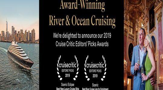 Scenic: Cruise Critic Editors' Picks Winners