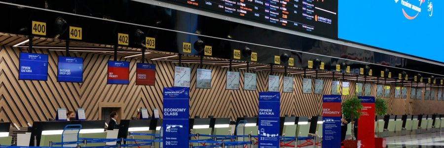 Aeroflot begins phased transition of international flights to Sheremetyevo's new Terminal C