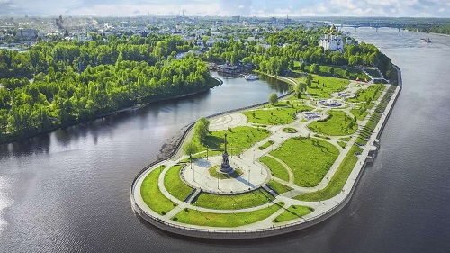 Yaroslavl the capital of the Golden Ring of Russia