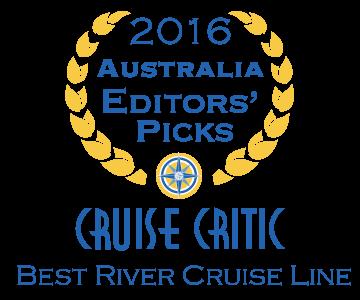 Scenic wins 'Best River Cruise Line' in inaugural Cruise Critic Editors' Picks Awards
