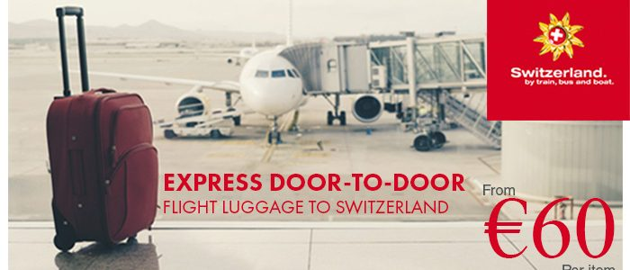 Rail Europe: Express Door-to-Door Flight Luggage Service to Switzerland
