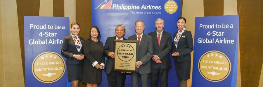 PAL becomes Philippines' first 4-star airline