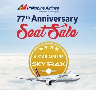 Philippine Airlines 77th Anniversary Seat Sale – International Flight Promos