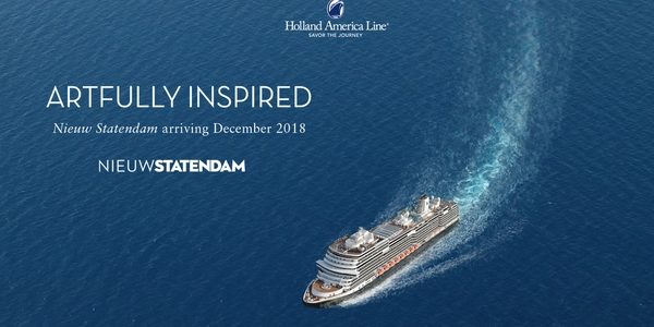 A Stunning New Ship: Nieuw Statendam | Open for Booking!