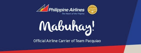 Philippine Airlines: Official Airline Carrier of Team Pacquiao