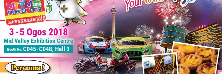 Macao Holiday Fever at the MITM International Travel Fair 2018