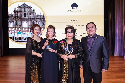 Two Awards for Macao at World Gourmet Top Awards 2018