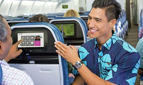 Hawaiian Airlines Celebrates Free In-Flight Entertainment with Donation to Local Non-Profits