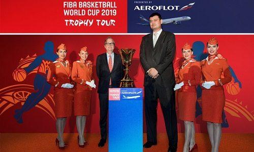 Aeroflot Becomes FIBA's Global Partner and Official Airline of FIBA Basketball World Cup 2019
