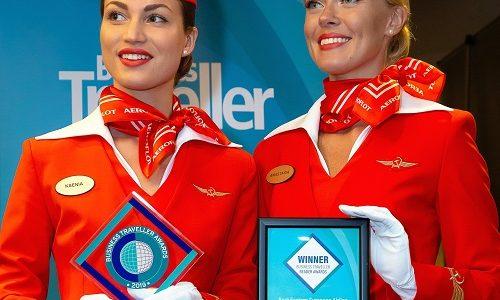 Aeroflot wins at Business Traveller Awards 2019 affirming global leadership among premium airlines