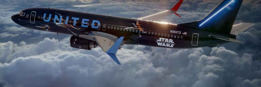 Fly the Friendly Galaxy: United Airlines Joins Forces with Star Wars: The Rise of Skywalker to Offer Customers Unforgettable Star Wars Experiences